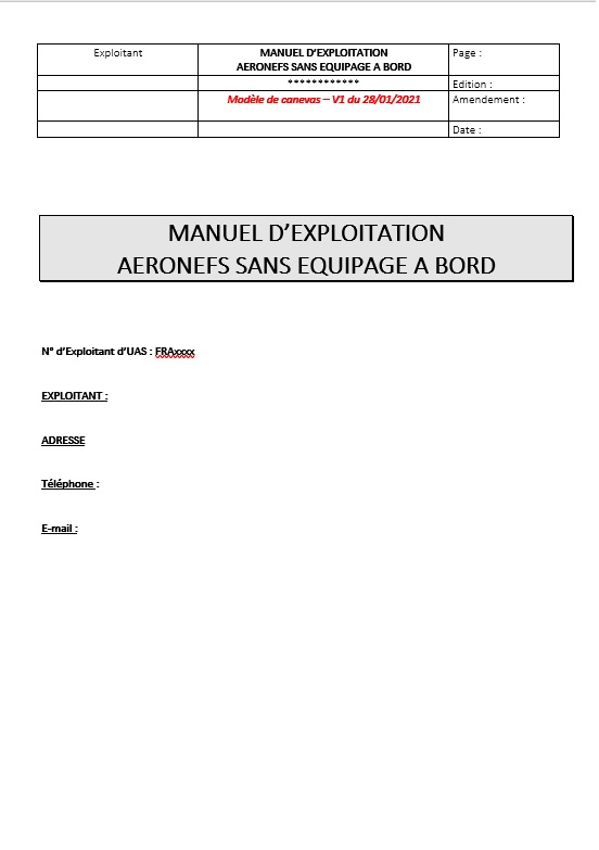 MANEX drone